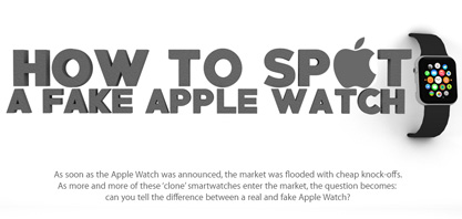 Como manchar uma falsificação Apple Watch