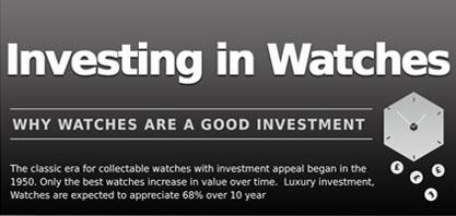 Investir em relógios