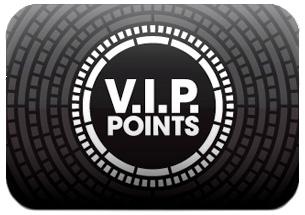 Ganhe Pontos VIP para fazer compras e mais